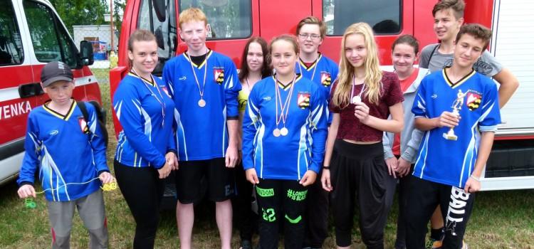 Výsledky pořádané soutěže mladých hasičů olomoucké ligy na Července