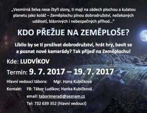 KDO PŘEŽIJE NA ZEMĚPLOŠE_tábor_2017